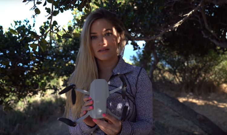 iJustine's DJI Mavic Mini Review